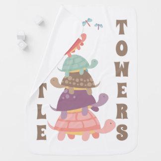 Torres da tartaruga cobertor para bebe