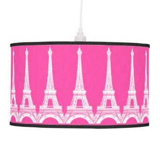 Torres Eiffel Cor-de-rosa-n-Brancas quentes