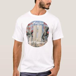 Torres gémeas 9/11 de camisa da relembrança