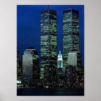 Torres gémeas do ~ do World Trade Center do POSTER
