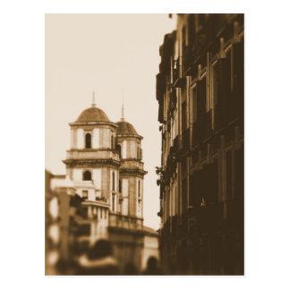 Torres gémeas - Madrid, espanha - cartão Cartao Postal