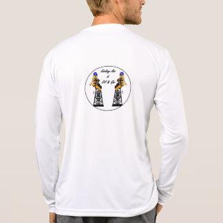 Torres gêmeas Microfiber do AO Tshirts