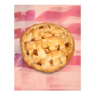 Torta americana panfletos coloridos