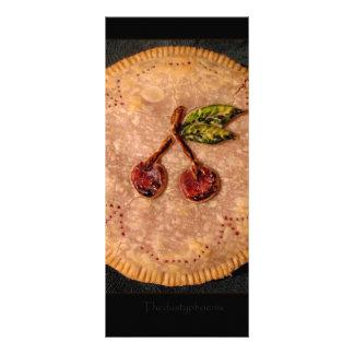 Torta da cereja 10.16 x 22.86cm panfleto