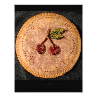 Torta da cereja flyer 21.59 x 27.94cm