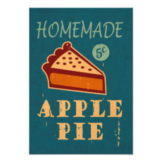 Torta de Apple Impressão Fotográfica