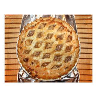 Torta de Apple fresca quente Panfletos Personalizado