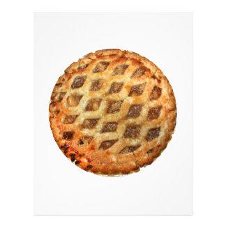 Torta de Apple fresca quente Panfletos