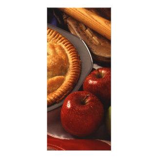Torta de Apple Modelo De Panfleto Informativo