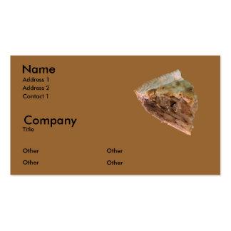 Torta de Apple um modo do la Modelo Cartões De Visitas
