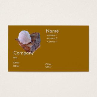 Torta de Apple um modo do la Cartão De Visitas
