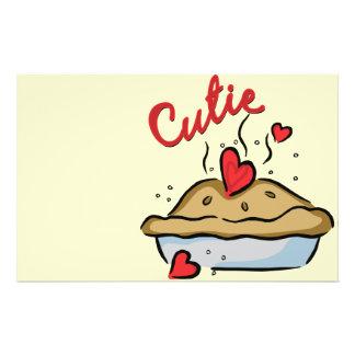 Torta de Cutie Modelo De Panfletos