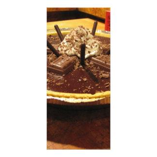 Torta Pocky do chocolate 10.16 X 22.86cm Panfleto