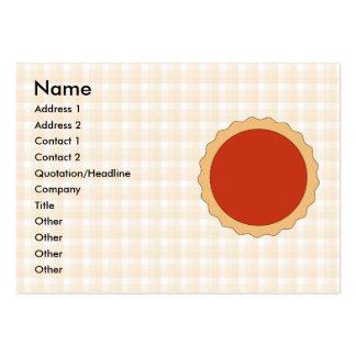Torta vermelha. Galdéria da morango. Verificação b Modelos Cartão De Visita
