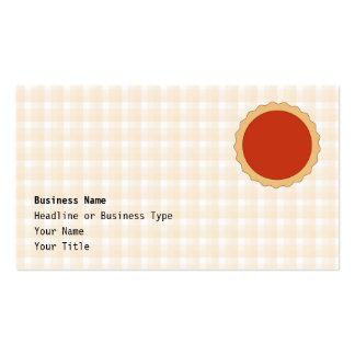 Torta vermelha. Galdéria da morango. Verificação b Modelos Cartões De Visita