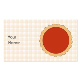 Torta vermelha. Galdéria da morango. Verificação b Cartao De Visita