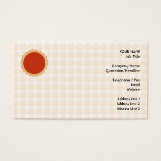 Torta vermelha. Galdéria da morango. Verificação Cartão De Visitas