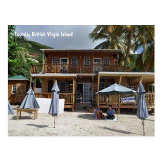 Tortola, cartão da praia da ilha de Virgin