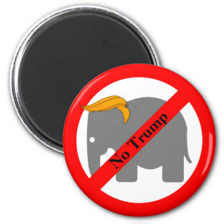 Toupee do elefante nenhum ímã do trunfo imã
