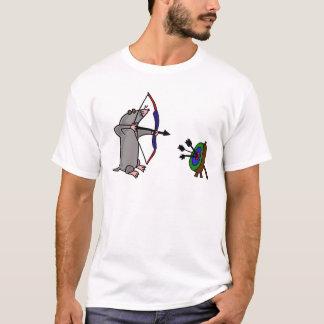 Toupeira cega do BB na competição do tiro ao arco Camiseta