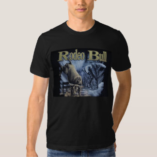 touro do rodeio t-shirt