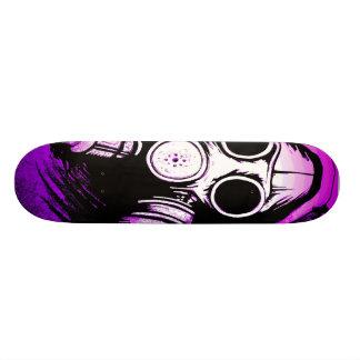 Tóxico do BioHazard GASMASK Shape De Skate 20,6cm