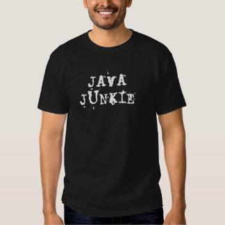 Toxicómano de Java, t-shirt escuro básico para