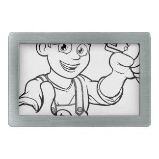 Trabalhador manual do mecânico ou do canalizador