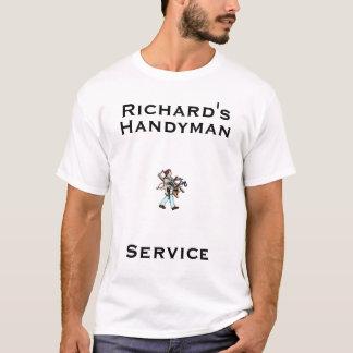 trabalhador manual, trabalhador manual, Richard, Camiseta