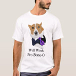 Trabalhará o pro cão Meme do advogado do Osso-o Camisetas