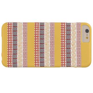 Trabalho de arte do estilo tradicional capas iPhone 6 plus barely there
