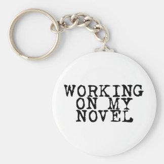Trabalho em minha novela chaveiro