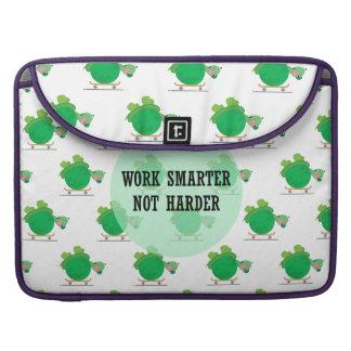 Trabalho mais esperto, não mais duramente bolsas para MacBook