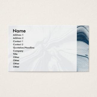 Trabalhos de arte abstratos cartão de visitas