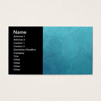 Trabalhos de arte azuis do abstrato do gelo cartão de visitas