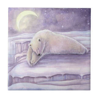 Trabalhos de arte bonitos do urso polar