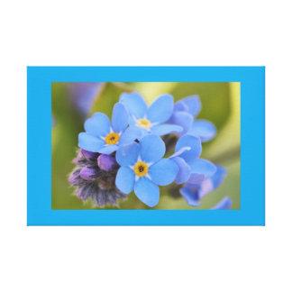 Trabalhos de arte da flor do miosótis