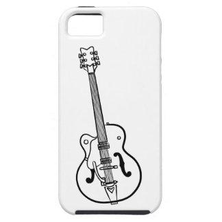Trabalhos de arte da guitarra elétrica - caso capa para iPhone 5