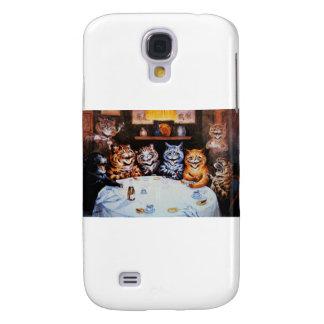 Trabalhos de arte de Louis Wain do partido de Galaxy S4 Cases