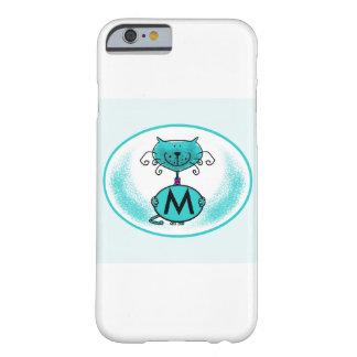Trabalhos de arte do gato/capa de telefone capa barely there para iPhone 6