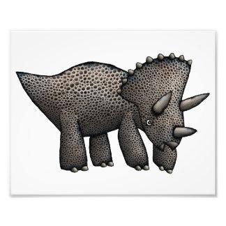 Trabalhos de arte do Triceratops Impressão De Foto