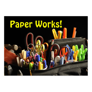 Trabalhos de papel! Artesanato Cartão De Visita Grande