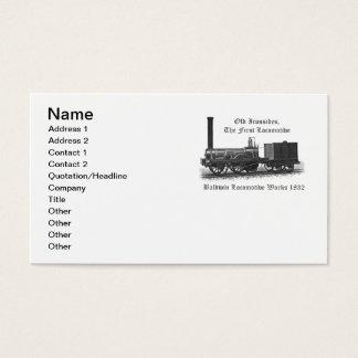 Trabalhos locomotivos de Baldwin, Ironsides idoso Cartão De Visitas