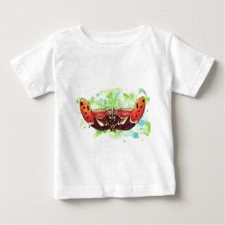 Traça de atlas camiseta para bebê