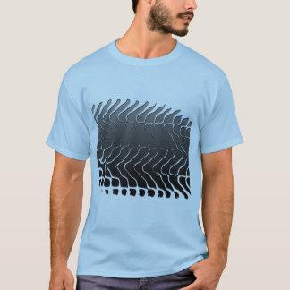 Traço do pneu camiseta