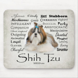 Traços Mousepad de Shih Tzu