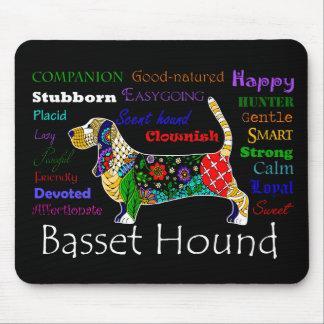 Traços Mousepad do Basset