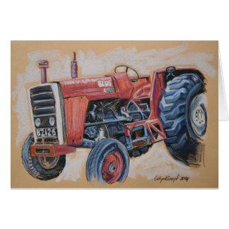 Tractor Ferguson BZ126 Cartão