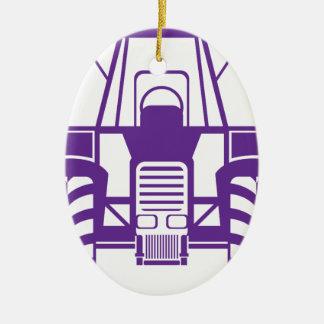 TractorFront.pdf Ornamento De Cerâmica Oval