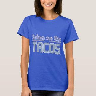 Traga no trunfo da zombaria do Tacos Camiseta